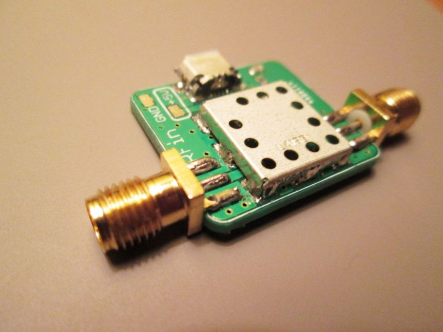 100 kHz to 2 GHzLNA